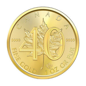 1-oz-2019-Canadian-Maple-Leaf-40th-Anniversary-Gold-Coin