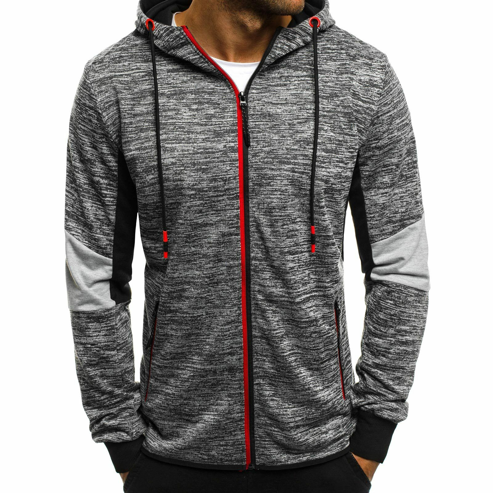 OZONEE JS//DD291 Herren Kapuzenpullover Sweatshirt Pullover Hoodie Aufdruck