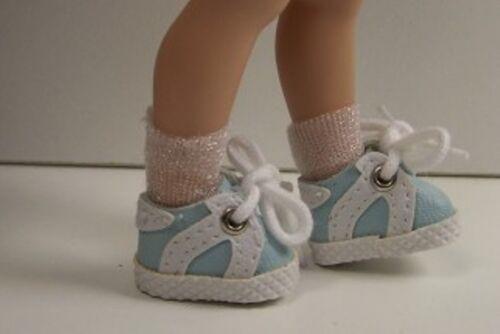 LT BLUE Sporty Tennis Doll Shoes Custom Made FOR Helen Kish RILEY & DJ (Debs)