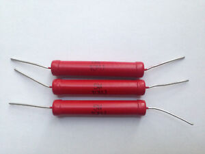 3x Hochspannungswiderstand 25kV 10MOhm 5W Spannungsteiler HV Resistor