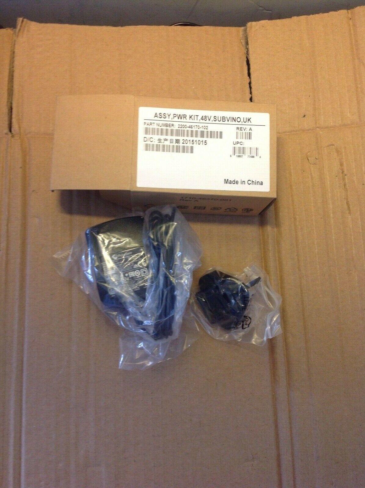Polycom PSA15R-480P Genuine Original 48 V 0.31A Power Adapter / Supply VVX Phone