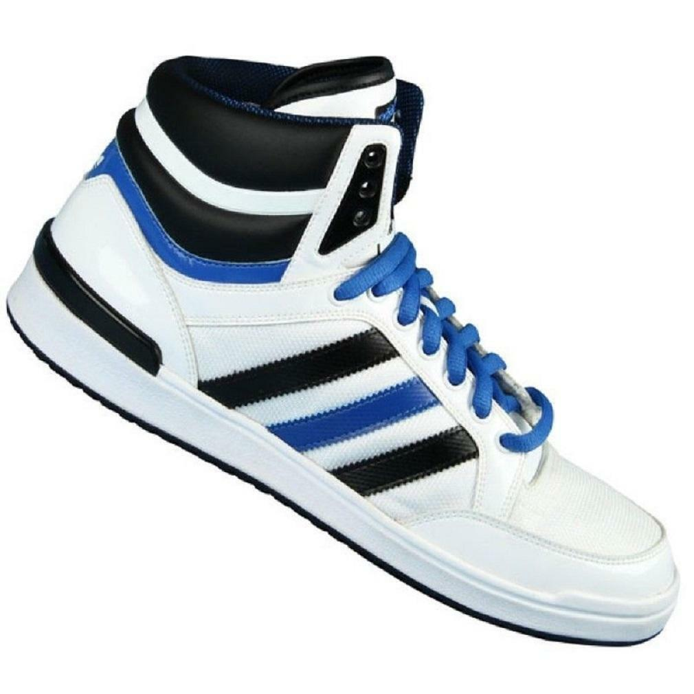 Mens ADIDAS TOP TEN REMODEL blanc Trainers G42545