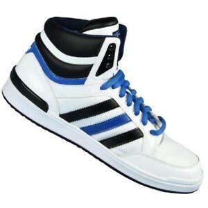 Hombre Adidas Top Ten remodelar zapatillas blancas g42545 eBay