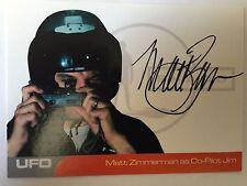 UFO AUTOGRAPH CARD Matt Zimmerman as Co-Pilot Jim MZ2