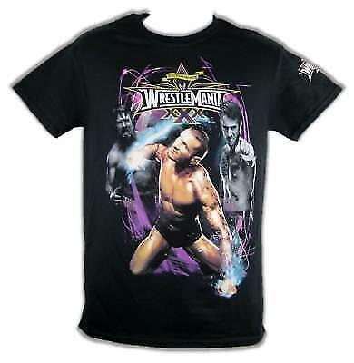 Wrestlemania 30 WWE T-shirt Randy Orton Daniel Bryan | eBay