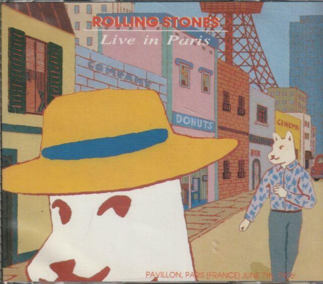 ROLLING STONES - LIVE IN PARIS 1976. 2CD