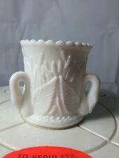Unmarked Westmoreland White Milk Glass Swan Toothpick Holder