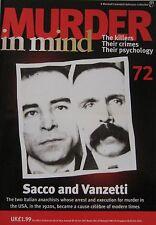 Murder in Mind Issue 72 - Sacco and Vanzetti