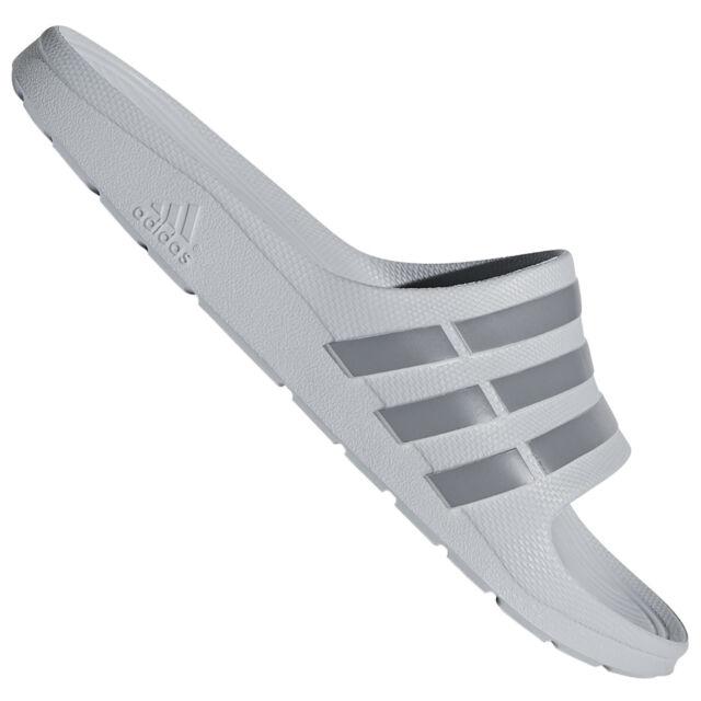 9c73052b7ad981 adidas Duramo Slide Men s Flip Flop Shoes Slip-ons Sandal Grey UK 10 ...