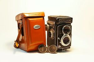 Ultra-Rare-Yashica-LM-camera-with-built-in-meter-Free-Worldwide-Shipping