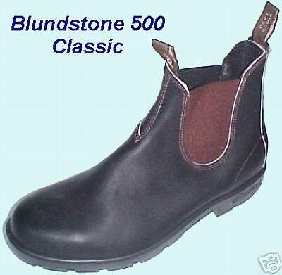 Scarpe casual da uomo  BLUNDSTONE 500 Classic Stout Brown Boots - New, Unworn