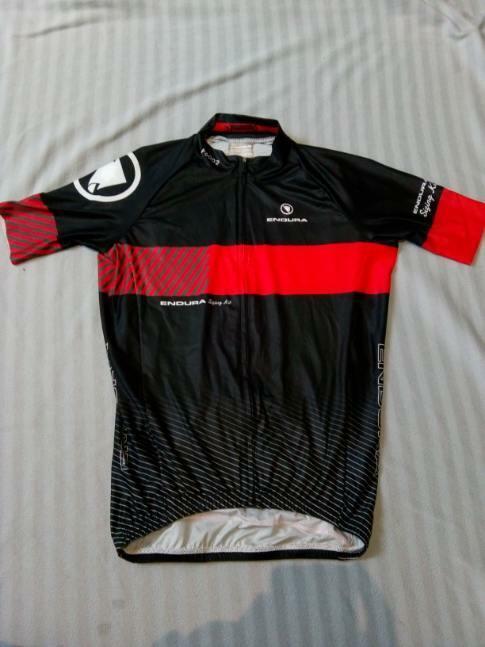Endura P6002 Full Zip Short Sleeved Radfahren Race Jersey Medium