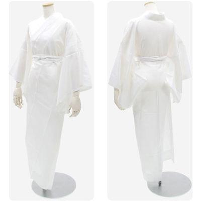 Japanese Woman's Kimono JYUBAN WHITE L