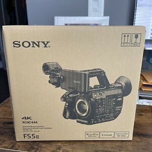 Sony PXW-FS5MK2 II 4K Super 35mm XDCAM E-mount,Video Camera NEW IN BOX
