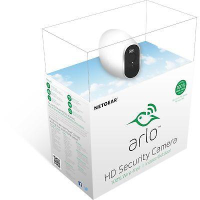 Arlo Sicherheitssystem mit einer HD-Kamera, Netzwerkkamera, weiß