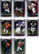 2014 DENVER BRONCOS 40 Card Lot w/ TOPPS CHROME Team Set 23 CURRENT Players