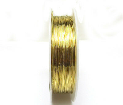 New 1roll 23M special copper wire craft wire bead wrap jewelry GOLDEN