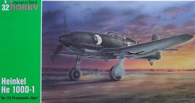 HEINKEL He 100D-1  He-113 Propaganda Jäger  SPECIAL HOBBY 1/32 PLASTIC KIT