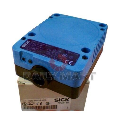 INDUCTIVE PROXIMITY SENSOR 4 Hz SICK NEW IQ80-60NUP-KK0 PLC M12