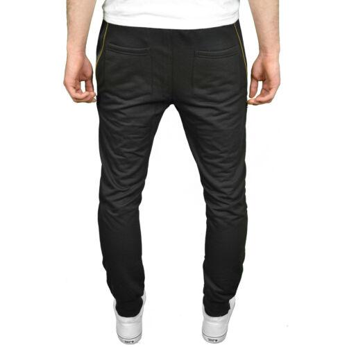 BNWT Soulstar Mens Designer Drop Crotch Tapered Fit /& Skinny Cuffed Joggers