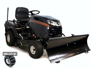 MTD-Rasentraktor-Black-Edition-195-92-Hydro-mit-Schneeschild-117cm-Ketten
