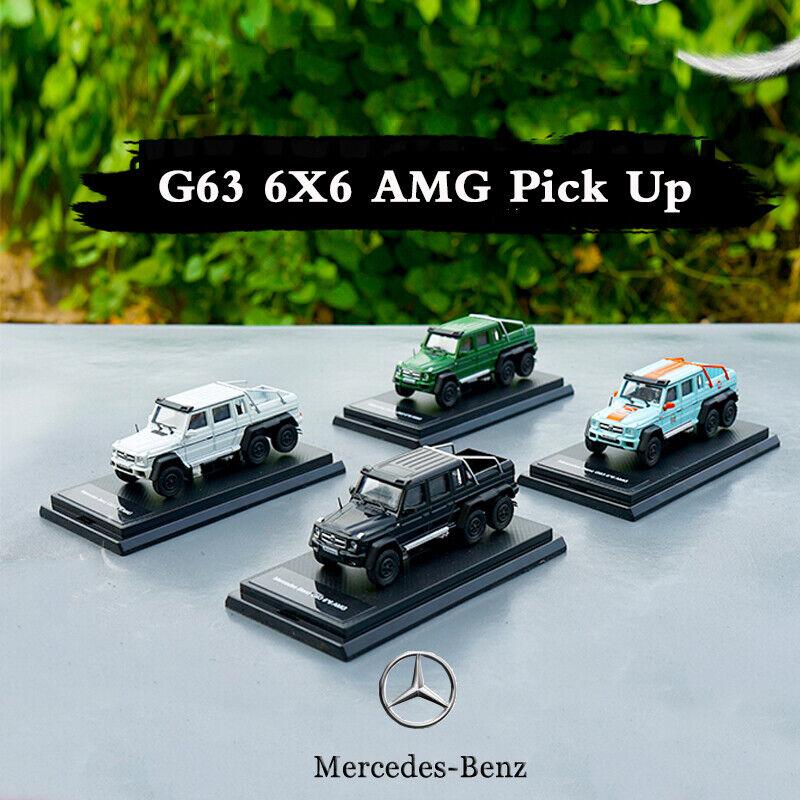 Kollektiva bilmodellllerler Kit 1  64 leksak Mercedes Benz G -klass AMG G63 6X6 G500 4X4