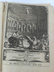 C-Svetonius-Tranquillus-Ex-Recensione-Joannis-Georgii-Graevii-1672