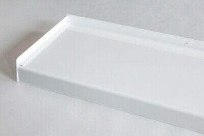 alu fensterbank weiss ral 9016 aluminium fensterbank bug f r au en im zuschnitt ebay