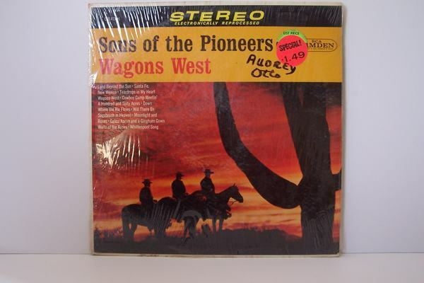 The Sons Of The Pioneers - Wagons West Vinyl LP Record