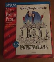 Sealed Disney 101 Dalmatians 300 Piece Movie Poster Puzzle