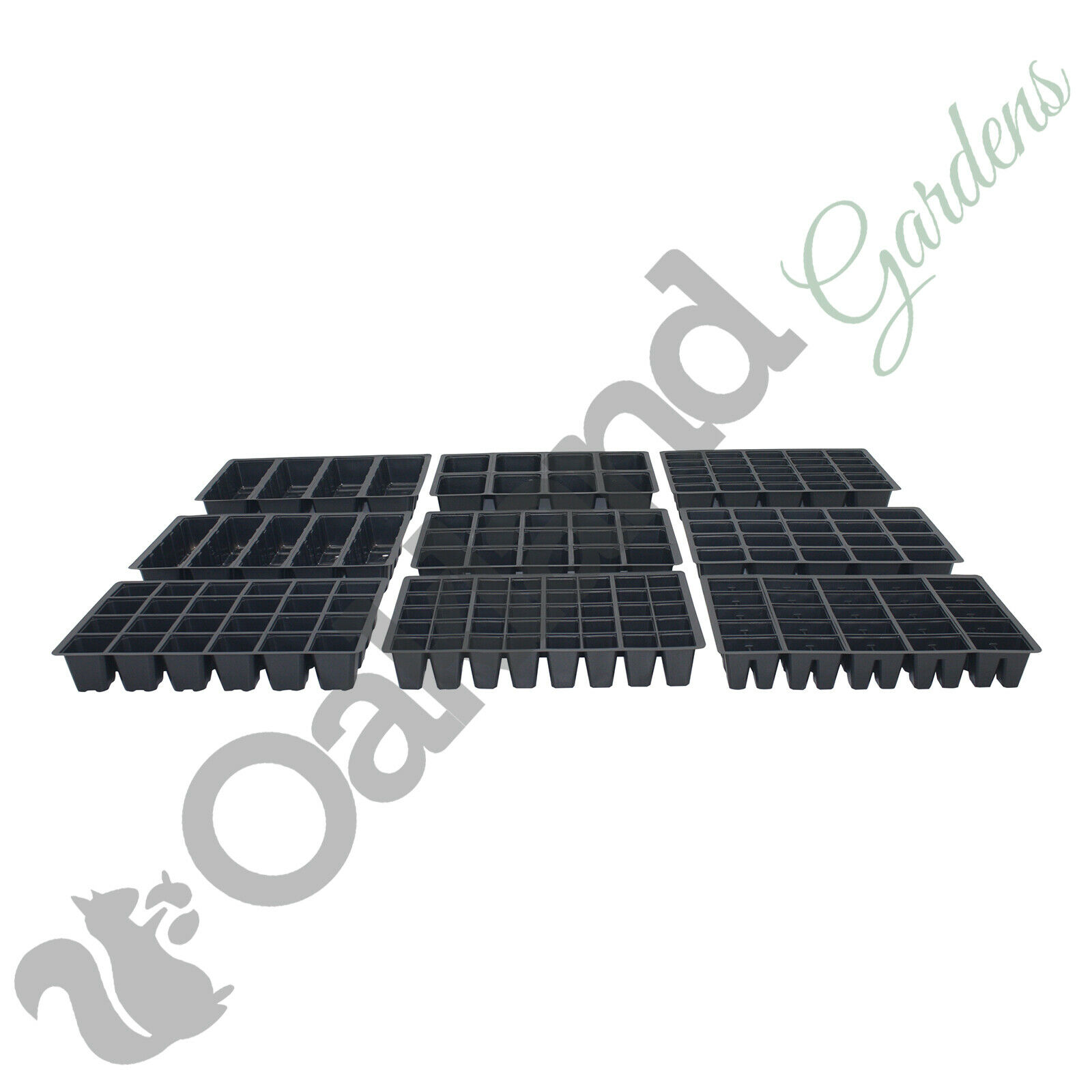Seed Tray Inserts For Full Size Gravel Trays Propagator Cell Plug Trays Bedding