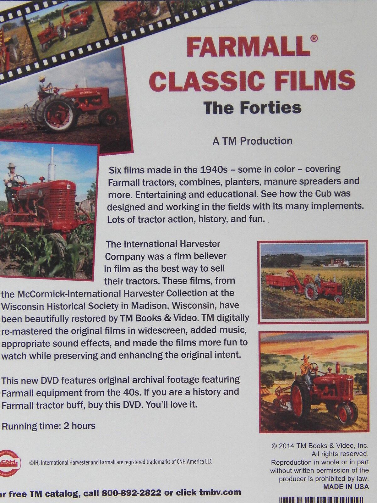Farmall Tractors Classic Films The Forties DVD