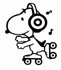 Details About Snoopy Car Decal Sticker