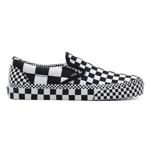 Details zu Vans Classic Slip On All Over Checkerboard New Men Sneakers Skate VN0A4BV3V8U