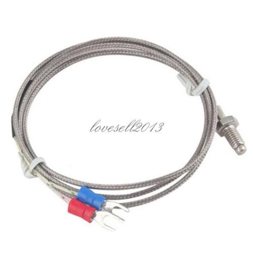 1M 3.3ft K-Type Thermocouple Control Temperature Controller 0-600C Sensor Probe