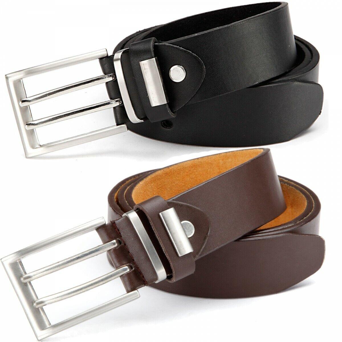 Jeans Belt Wide Removable Buckle Belt Men's Belt 084 SALE JOBLOT