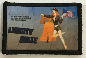 Heavenly Body WWII Bomber Pin up Girl Nose Art Morale Patch B-17 P51
