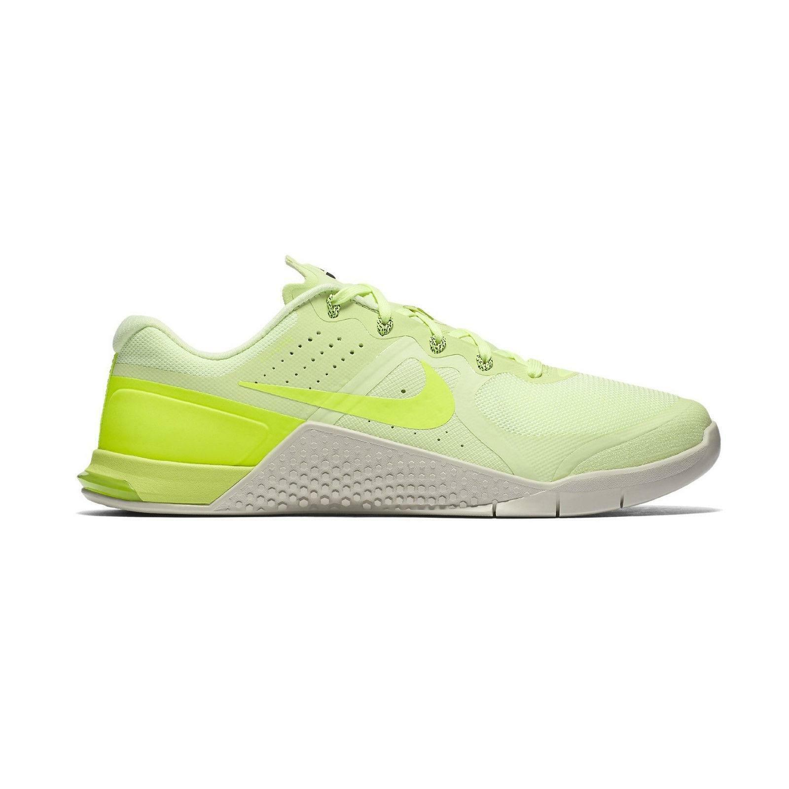 Mens NIKE METCON 2 Volt Light Textile Synthetic Trainers 819899 700