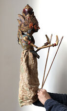 Antique JAVA wayang golek rod puppet, very fine piece! Indonesia