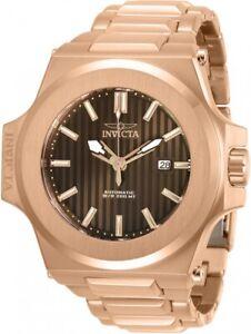 New-Mens-Invicta-30193-58mm-Akula-Prestige-Automatic-Rose-Gold-s-s-Watch