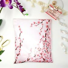 Designer Poly Mailers Envelopes Shipping Bags Packaging 10x13 Cherry Blossom