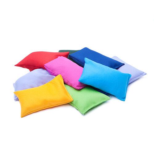 10 Pack Multicolour Bean Bags Children Kids Play PE Garden Games Juggling Sports