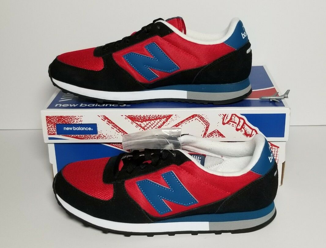NEW BALANCE Homme U430SKB CLASSICS SZ 8 D Rouge/ Noir  FAST SHIPPING NEW WITH BOX