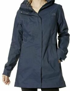 NWT The North Face Women's City Midi Trench Urban Navy Size M