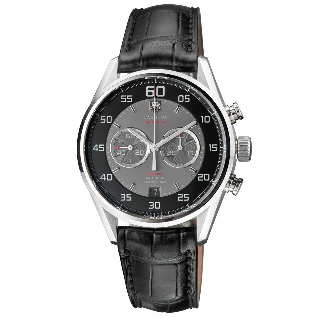Tag Heuer Carrera Automatic Movement Grey Dial Men's Watch CAR2B10.FC6235   Ebay