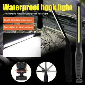 Multifunction-Rechargeable-COB-LED-Slim-Work-Light-Lamp-Flashlight