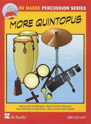 Redelijk More Quintopus 3 Easy Quintets For Percussion Sheet Music Book Score & Parts Catalogi Worden Op Verzoek Verzonden