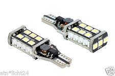 2x 12V CAN-Bus W2.1x9.5d T15 W16W 3528 Power LED SMD Lampe Xenon Weiß 6000K CAR