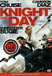 KNIGHT AND DAY - INNOCENTI BUGIE (2010) di James Mangold DVD EX NOLEGGIO - FOX