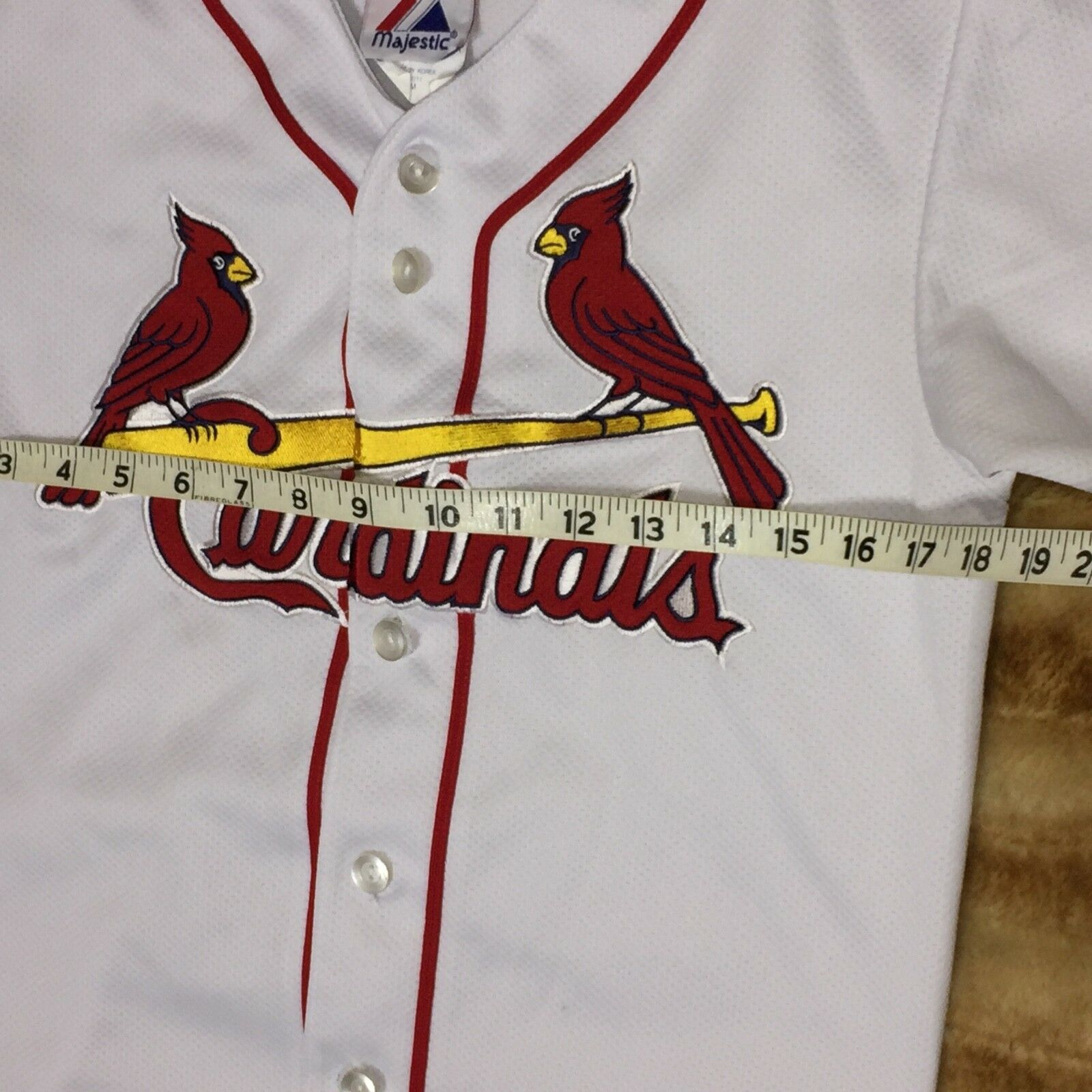 Majestic Weißes st Louis Cardinals Cool Cool Cool Base Custom 9e52e7